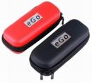 Kožené púzdro pre eGo-T červené/čierne